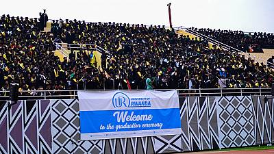 Over 8,300 graduate in Rwanda varsity's colourful stadium event [Photos]