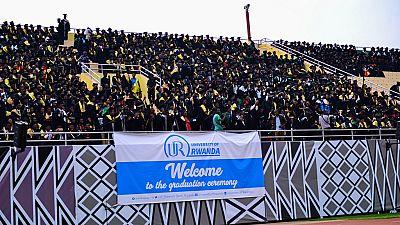 Over 8,300 graduate in Rwanda varsity's colourful stadium event [Photos]