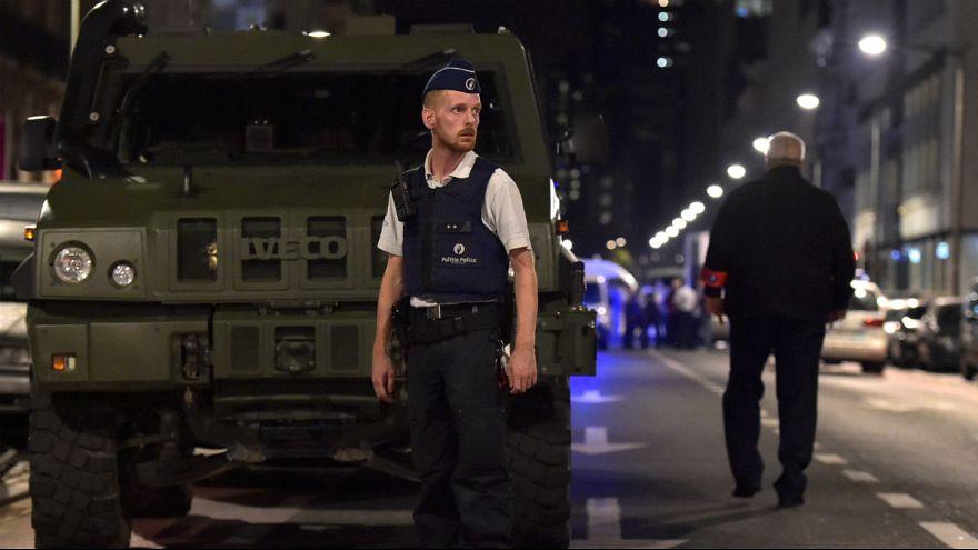 Belgian soldiers shoot dead man in Brussels in alleged terrorist attack