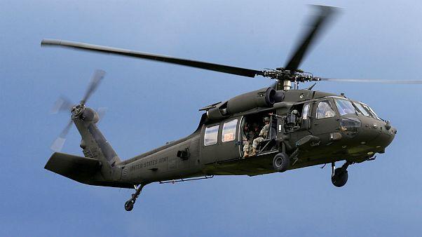 سقوط هلیکوپتر نظامی آمریکا در سواحل یمن