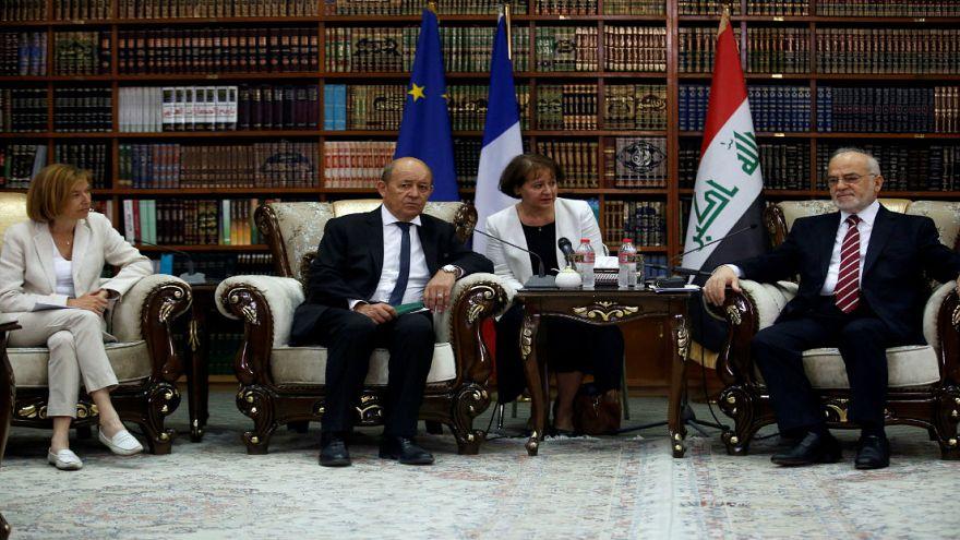 سفر وزرای خارجه و دفاع فرانسه به عراق با وعده کمک های مالی