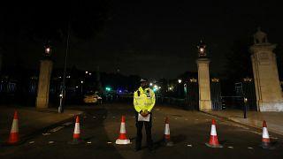 Londra'da polise bıçaklı saldırı