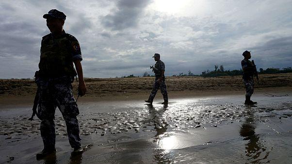 میانمار؛ دست کم ۸۹ کشته در درگیری میان ارتش رهایی روهینگیا و پلیس