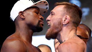 Millionenspektakel um Boxkampf Mayweather vs McGregor
