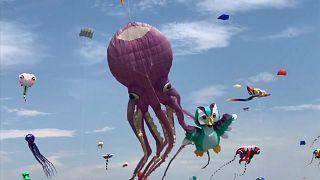Tayvan'ın ilginç uçurtma festivali