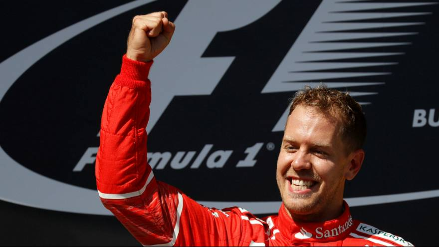 Sebastian Vettel bleibt bei Ferrari