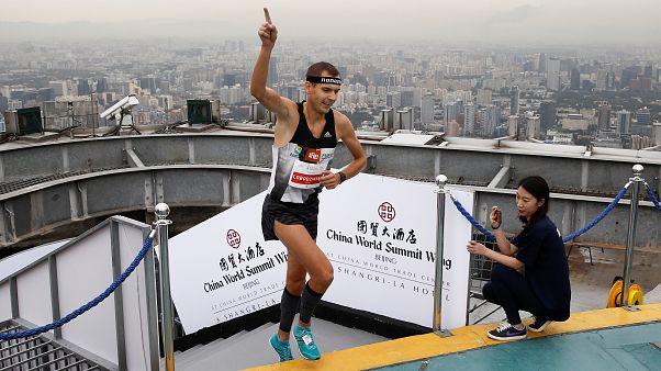 رقابت های پله نوردی در پکن