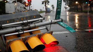 Hurricane Harvey downgraded to Tropical Storm