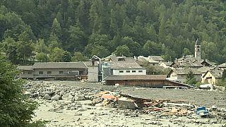 توقف البحث عن مفقودين تحت انهيارات صخرية شرق سويسرا
