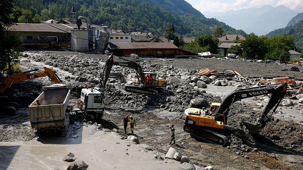 Suspendida la búsqueda de ocho alpinistas en Suiza