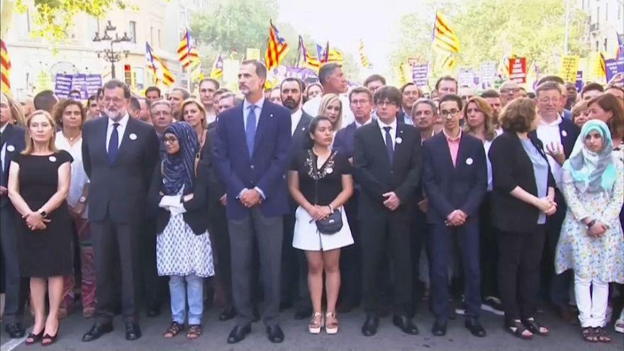 Barcelona: Hunderttausende gegen den Terror