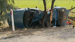 German tourist killed and Briton critically-injured in Australia crash