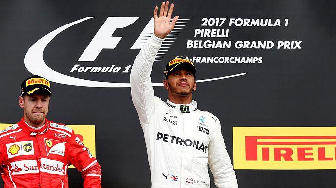 F1: trionfa Hamilton a Spa e accorcia su Vettel