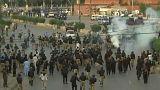 فيديو: اشتباكات عنيفة اثناء مظاهرات منددة بترامب في باكستان