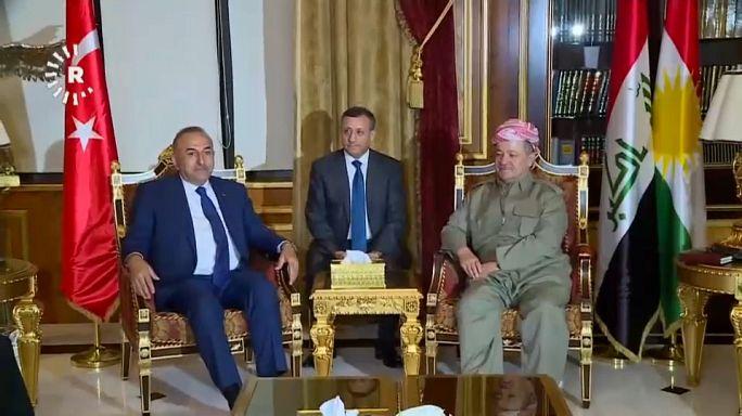 Kürdistan'ın bağımsızlık referandumuyla ilgili diplomasi trafiği