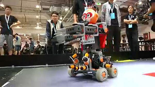 Robotok párbaja Kínában