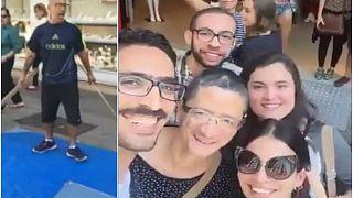 مصري يتحول إلى بطل في البرازيل بعد تعرضه لاعتداء