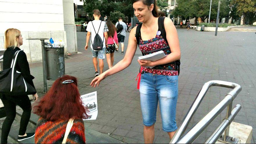 Budapest se despierta comunista en rechazo a la visita de Putin