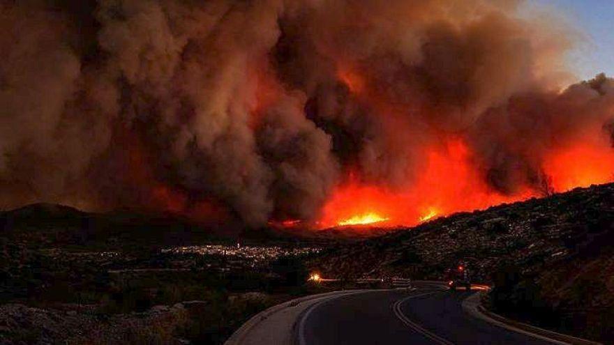 Erneut Waldbrände auf Urlaubsinsel Zakynthos