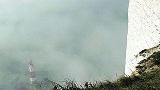 Mysterious haze cloaks Sussex coast