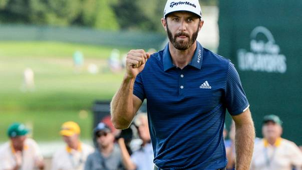 Golf : Dustin Johnson remporte le Northern Trust