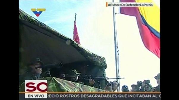Venezuela niega que sus tropas hayan penetrado en territorio colombiano