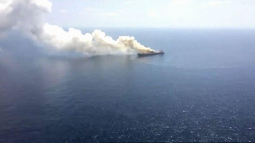 Feuer auf Frachter vor Kanaren gelöscht