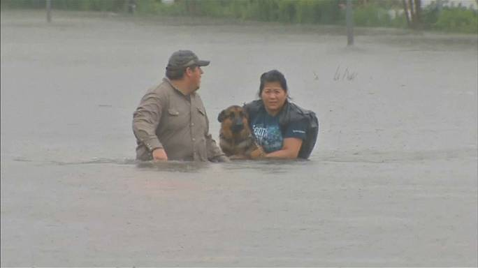La tormenta tropical Harvey inunda Houston