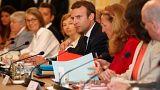 """Macron : """"ne jamais céder aux Cassandre"""""""