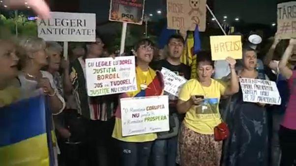 Manifestación en Rumanía contra la politización del sistema judicial