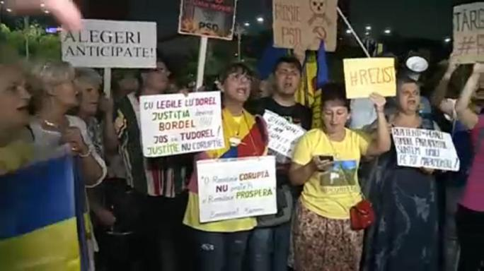 Rumänien: Proteste gegen Justizreform