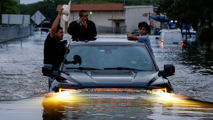 Ураган «Харви» приближается к Луизиане