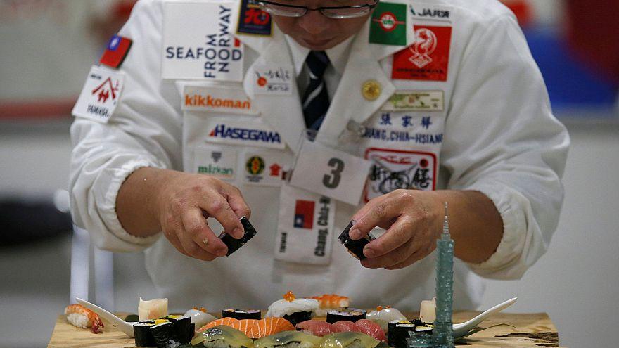 Português e brasileiro no pódio de Mundial de sushi em Tóquio