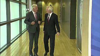 """Brexit : Michel Barnier """"préoccupé"""""""