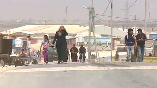 Ünnep a menekülttáborban