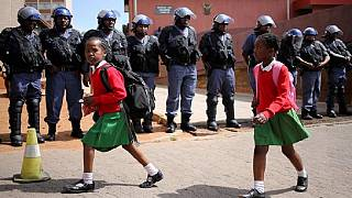 S. Africa schoolgirls instigate protest for 'skinny pants' as part of uniform