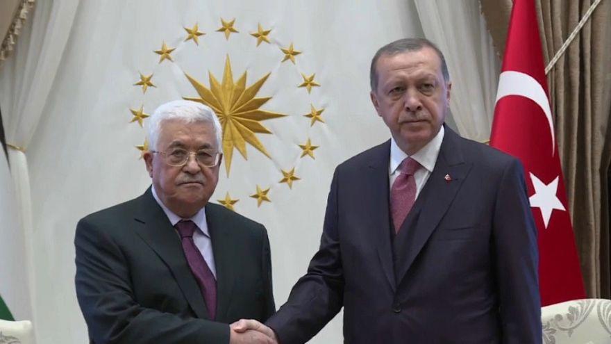 عباس يجتمع مع إردوغان في أنقرة
