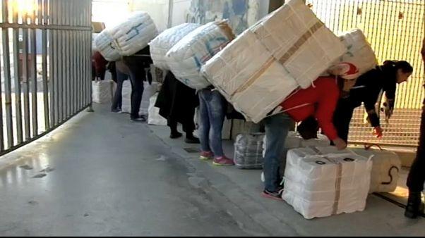 Mueren dos porteadoras marroquíes en la frontera entre Ceuta y Marruecos