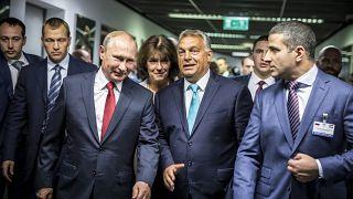 Putyin ismét Budapesten járt