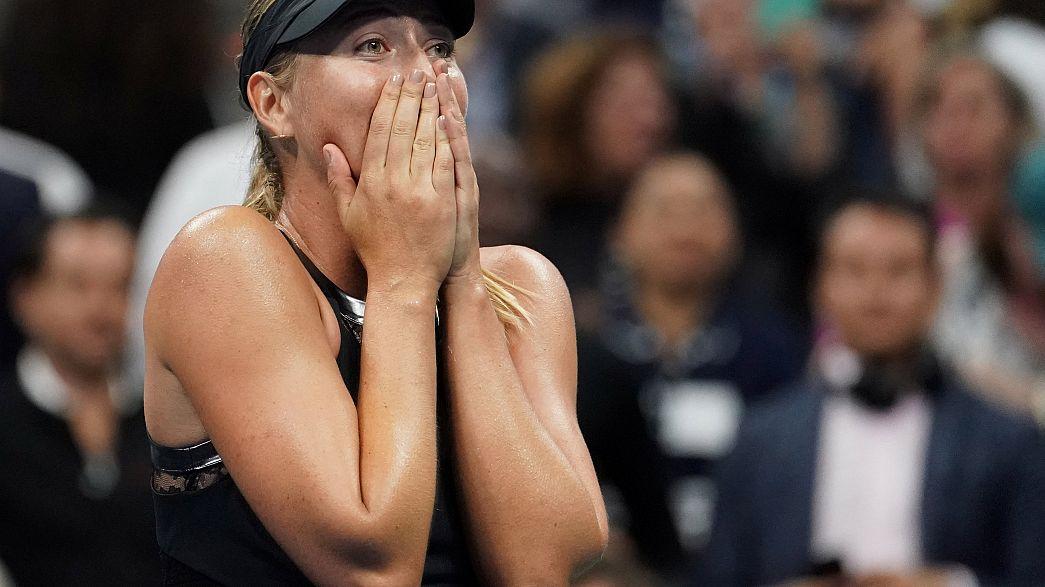 Sharapova doping cezasından sonra ilk grand slam maçını kazandı