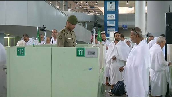 Tight security in Mecca for Haj pilgrimage