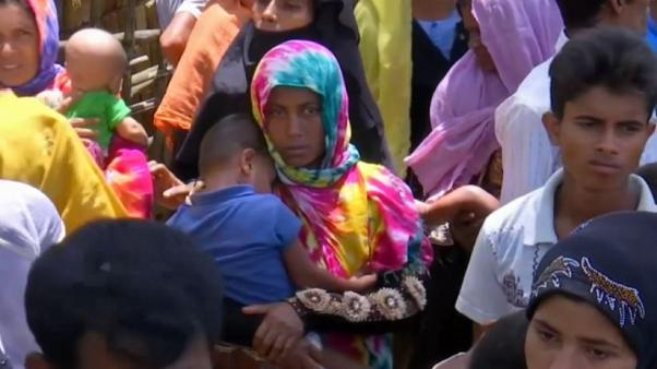 Thousands flee escalating violence in Myanmar