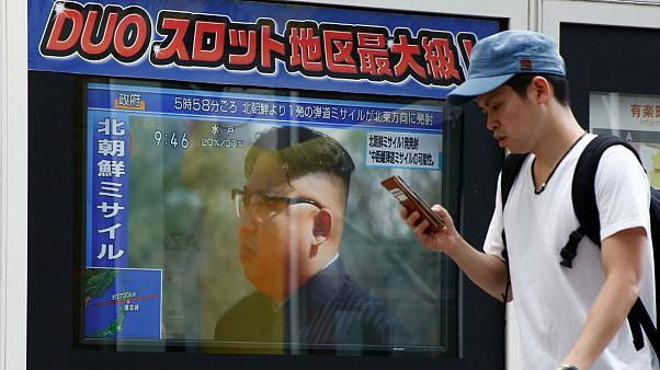 Alarms sound in Japan warning residents of North Korea missile threat