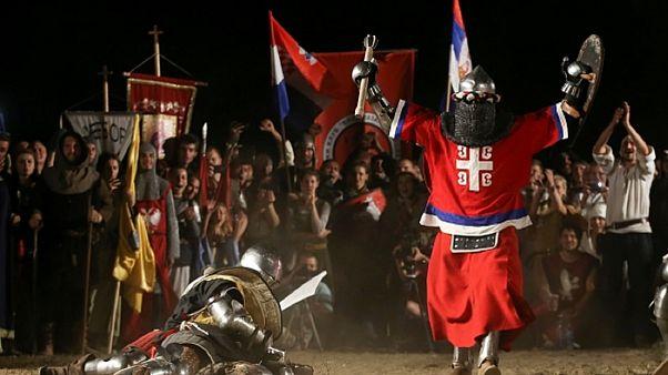 Mittelalterfestival in Serbien