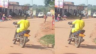 Ugandans get scare: prisoner spotted riding police motorcycle in town