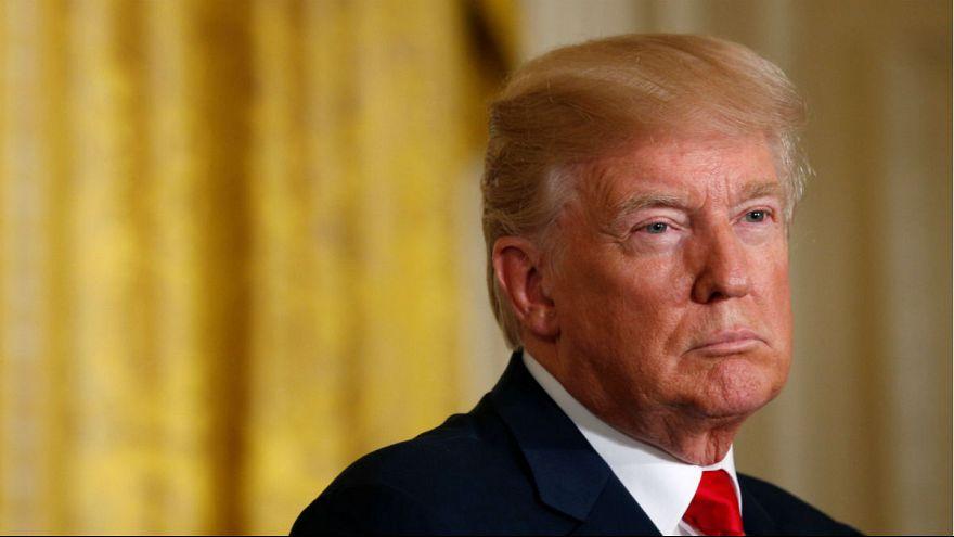 """""""Sie schon wieder?"""" Trump verwechselt finnische Reporterinnen [VIDEO]"""