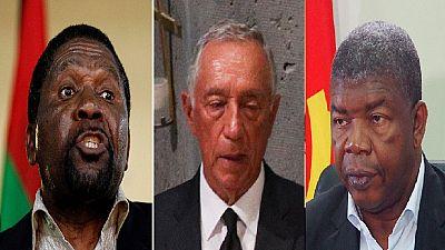 Angola opposition slams Portuguese president for 'declaring' Lourenco president-elect