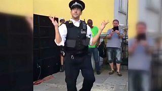 Criminally good? Five of the best dancing policemen
