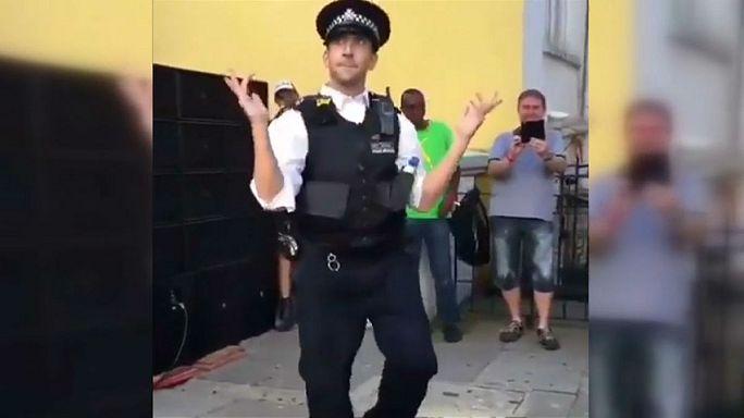 Az öt legjobb rendőrtáncos