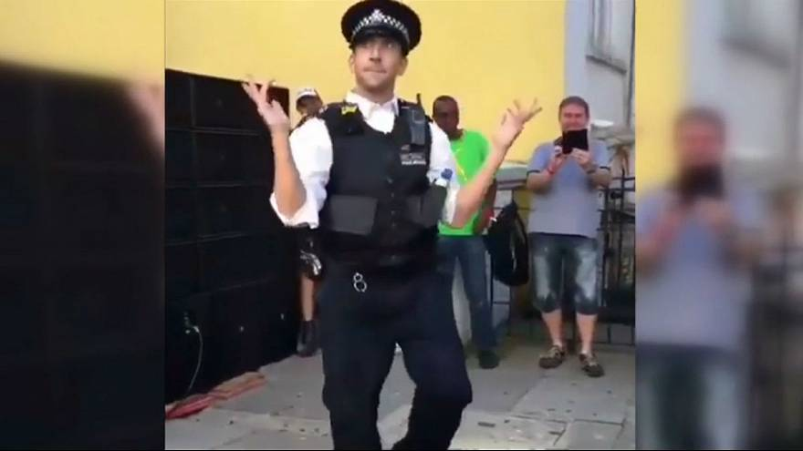 Criminally good? Five of the best dancing policemen